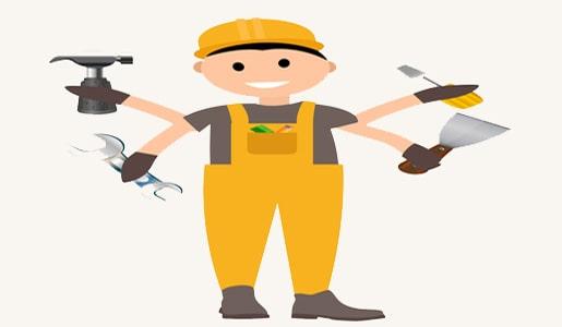 عمال :صباغ - رسيفر - تطبيقات لصيانه